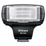 尼康(Nikon)SB-400闪光灯(与i-tll闪光操作兼容 闪光头可以倾斜 4 级 2节AA电池)