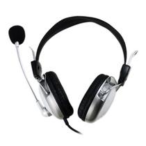 意高(ECHOTECH)CE-206 头戴式耳麦(银白色)