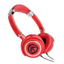 美国潮牌(Aerial 7) Phoenix系列潮流耳机头戴式耳机(红色)(PHOENIX采用钢筋框架,可调式头带,毛绒耳垫,旋转耳环,以及一个出色的高品质的扬声器)