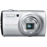【美颜自拍】奥林巴斯(OLYMPUS)VH-510数码相机 银色 8倍光学变焦,纤薄机身,1200万像素3.0英寸液晶屏幕,25MM广角,美颜功能强大非凡。