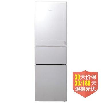 荣事达(Royalstar) BCD-220TR 220升L 三门(银色) SMART智能控温冰箱