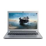 宏�(ACER)V5-471G-33212G50Mass【游戏之王】笔记本电脑(i3-3217U 2G内存 500G硬盘 2G独显 DVD刻录 蓝牙 摄像头 Linux)银色