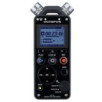 奥林巴斯(OLYMPUS)LS-14微型数码录音机(青玄黑)(4G) 远距降噪声控 采访录音笔 MP3播放器