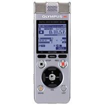 奥林巴斯录音笔DM-650录音笔音乐播放商务会议采访取证学习培训录音笔 4GB 银色