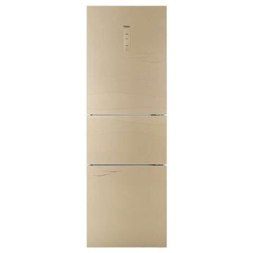 海尔(Haier)BCD-249WDCU 249升L 三门冰箱(金) 风冷