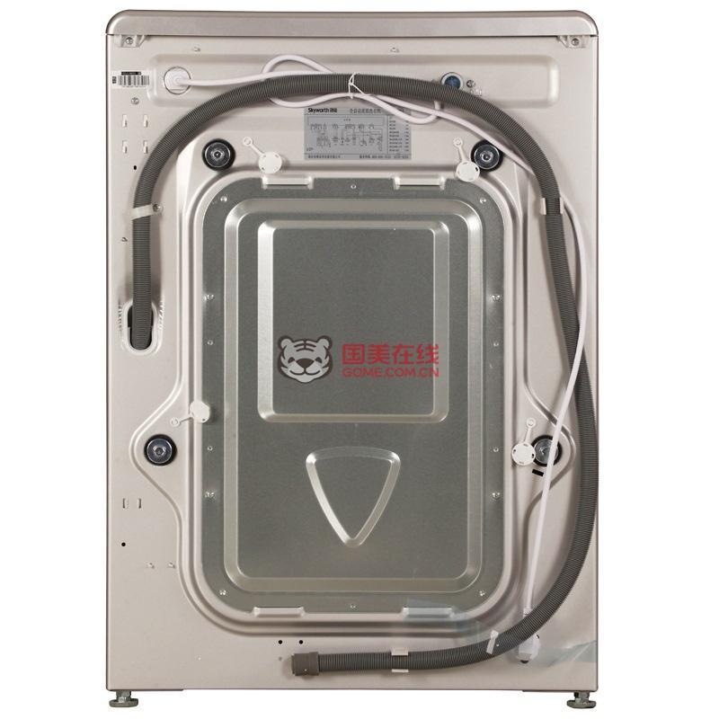 创维洗衣机f651003s银-国美团购