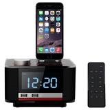 美时B11苹果蓝牙音箱(苹果原装接口,超重低音,Lightning接口授权的音响)