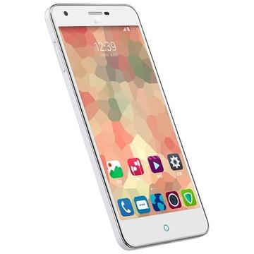 中兴(zet)青漾3(g719c)电信4g手机(时尚白)价格/报价