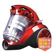 ING吸尘器 迷你家用无耗材除螨吸尘器除尘除螨机G1007 中国红