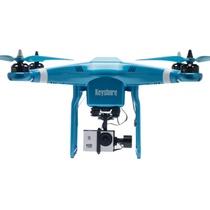 keyshare基石专业航拍无人机航拍器高清图像实时传输监测 glint play 时尚蓝