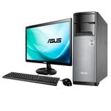华硕(ASUS)M32AL-G1052A3 19.5英寸台式电脑(赛扬1017U处理器 2G内存 500G 硬盘WIN8 银黑色 )