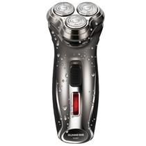 朗威Rs981剃须刀三环弧面刀网全身水洗充电刮胡刀电动剃胡刀胡须