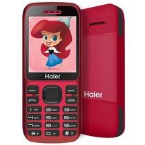 海尔M311 移动/联通2G 老人手机柑桔红