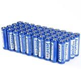 雷摄(LEISE)5号碳性电池  LST5AA-40碳性电池  5号AA无汞环保型40粒/盒【国美自营 品质保证】