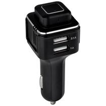 纽曼蓝牙耳机TL10 黑色 车载蓝牙耳机空气净化器USB车充三合一负离子氧吧除甲醛