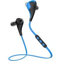 纽曼蓝牙耳机L03 蓝色 运动无线蓝牙耳机 头戴式迷你双入耳 通用型立体声