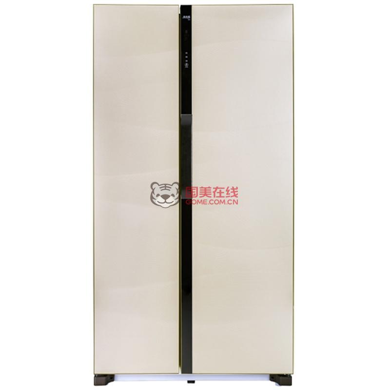 美菱冰箱bcd-568wpbd流沙金
