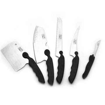 炊大师 JWDJ-8805 不锈钢刀具五件套 39元