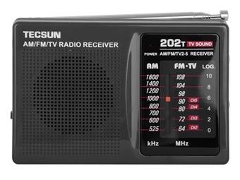 德生(tecsun)r202t收音机